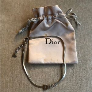 Authentic Christian Dior Choker Necklace
